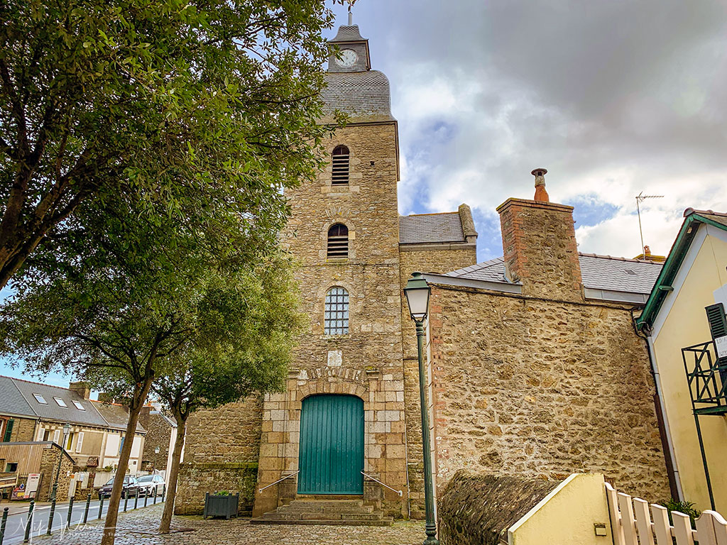 Eglise de Saint Enogat in Dinard'