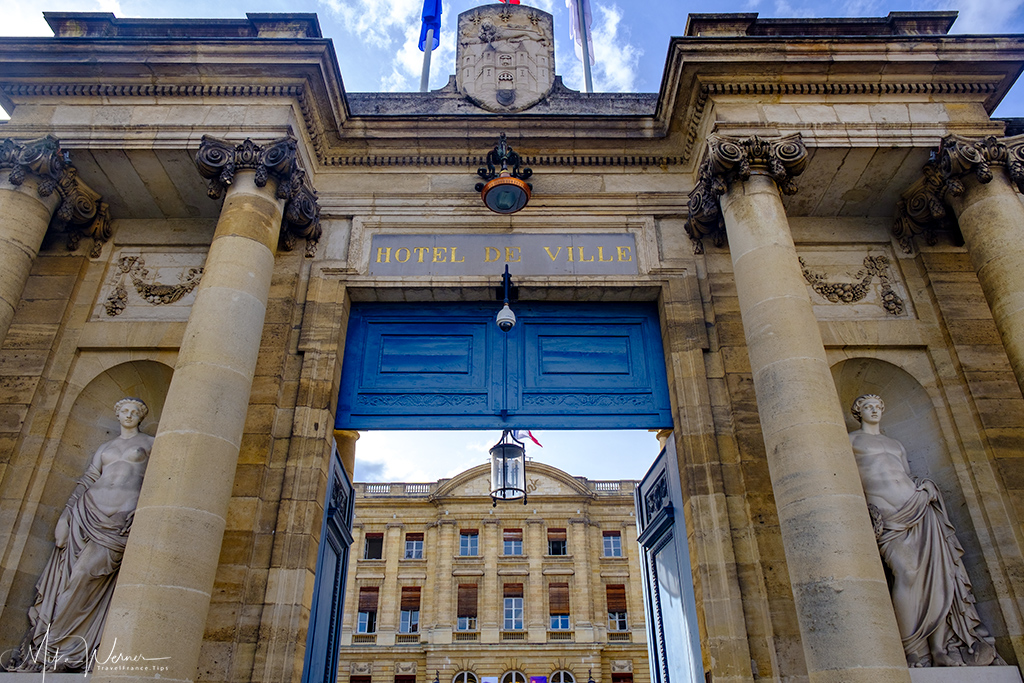 Entrance/Gate of the Bordeaux City Hall