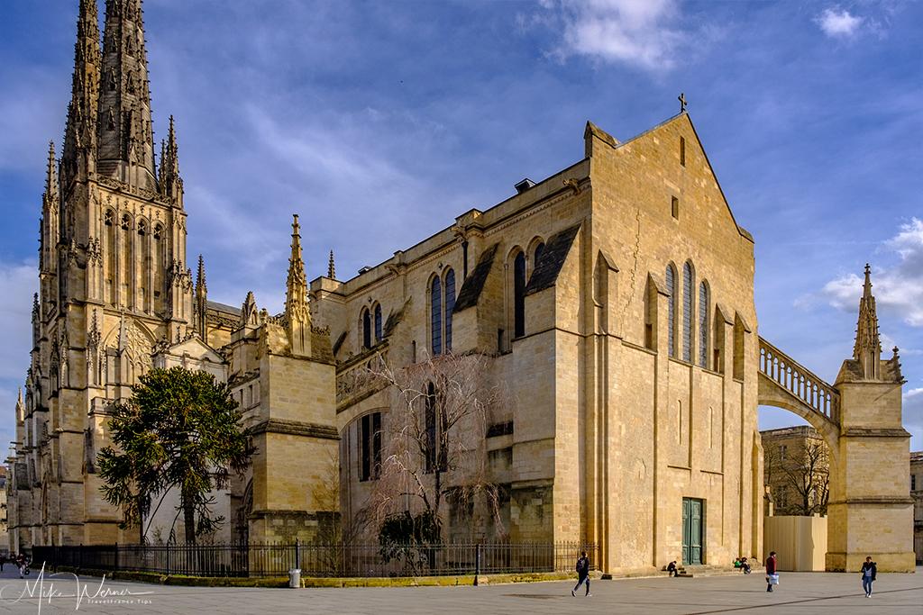 The cathedral of Bordeaux (Cathedrale Saint-André de Bordeaux)