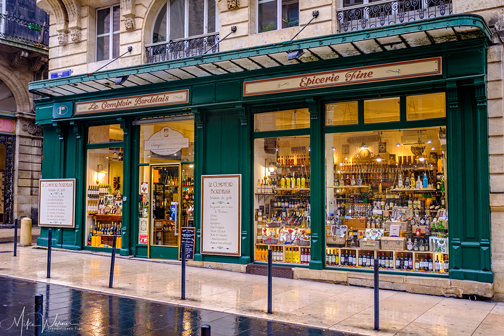 Speciality grocery shop in Bordeaux