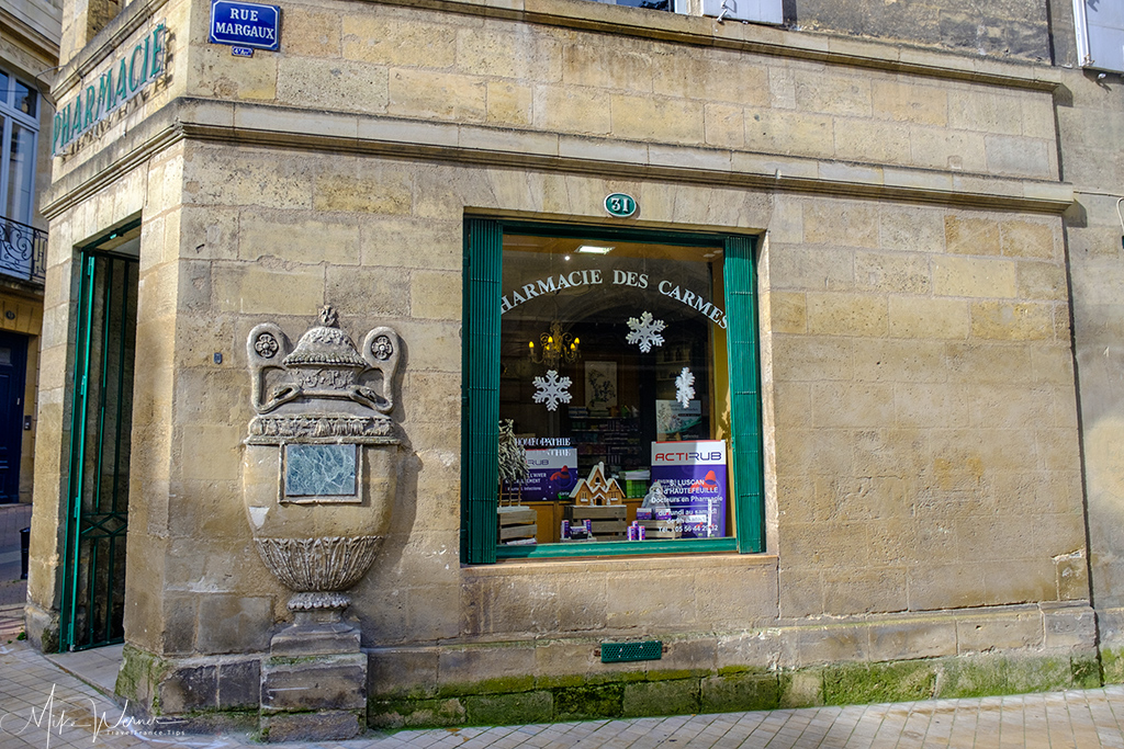 Pharmacy in Bordeaux