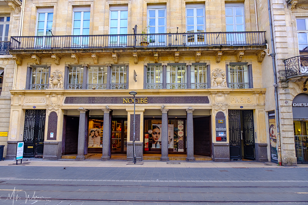 Perfume shop in Bordeaux