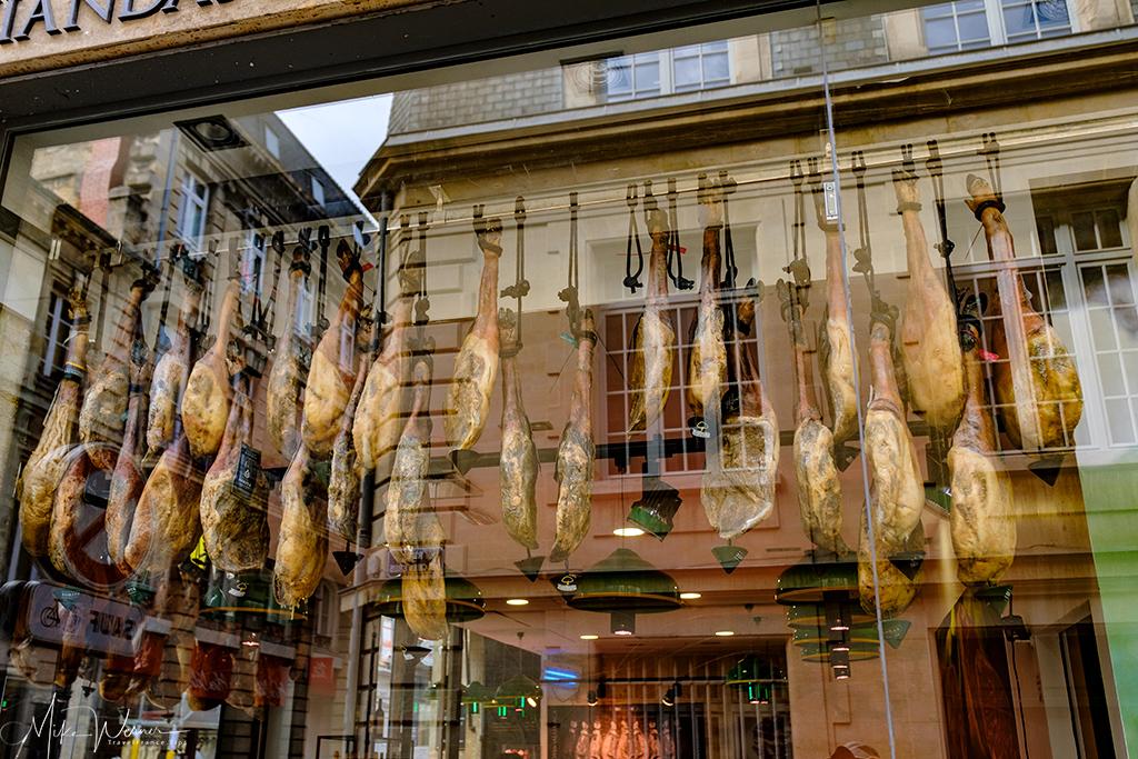 Hams shop in Bordeaux