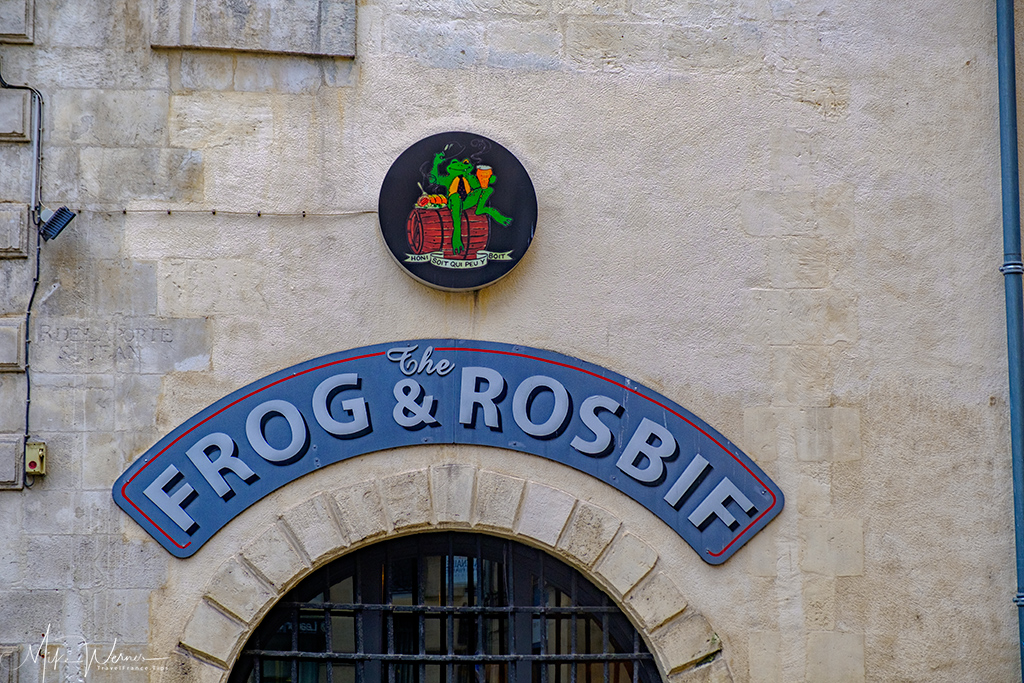The Frogs and Rosbif pub