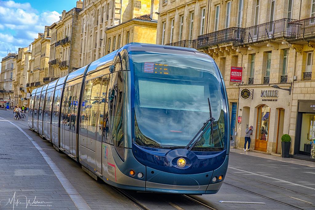TBM Tram in Bordeaux