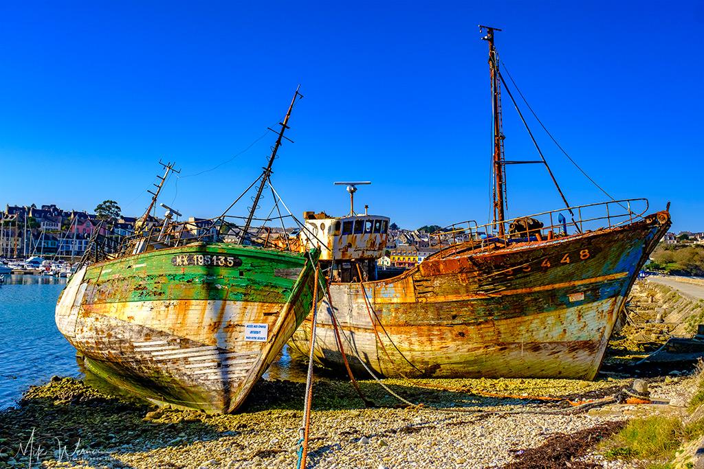 Two Shipwrecks at Camaret-sur-Mer