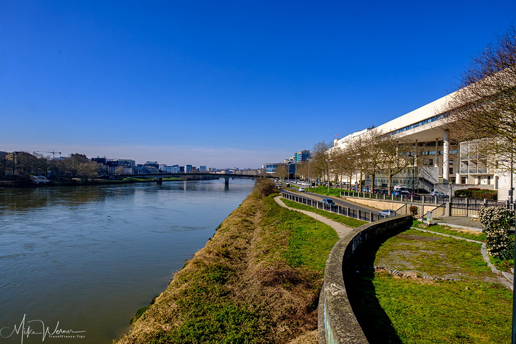 The Loire river in Nantes