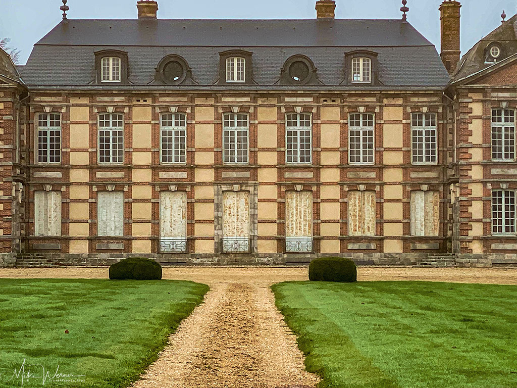 The main building of the Chateau de Bretteville at  Bretteville-Saint-Laurent in Normandy