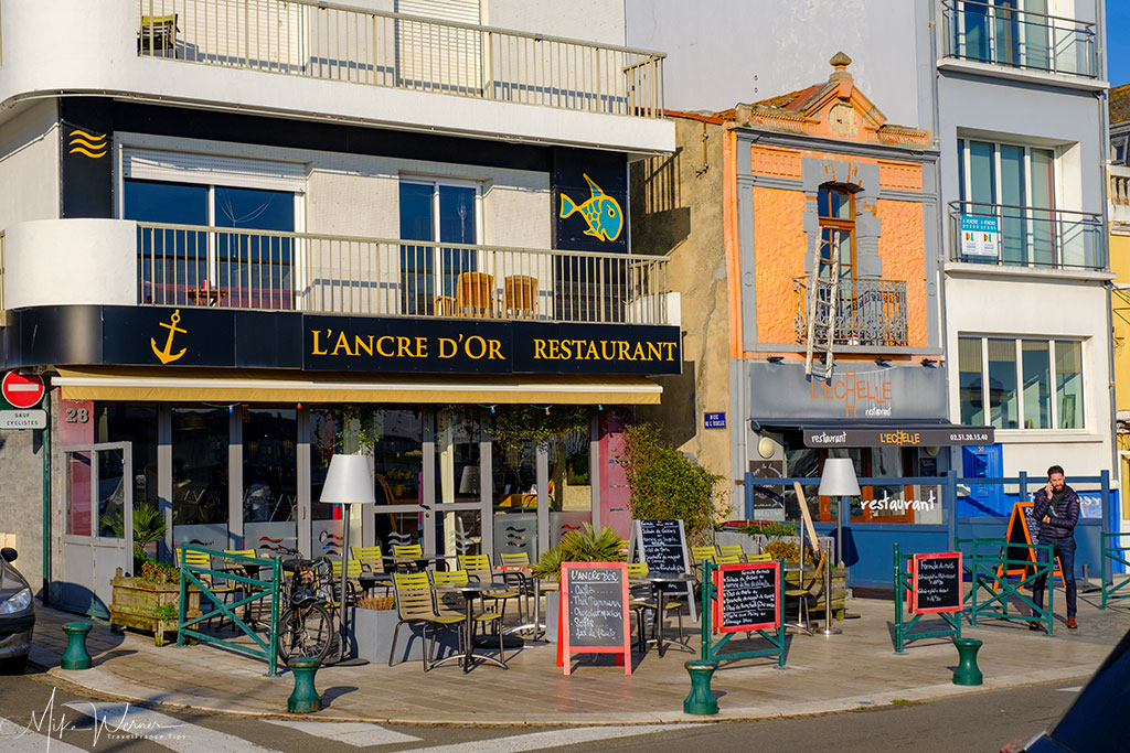 Restaurants at Les Sables-d'Olonne