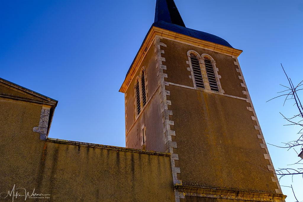 The steeple of the Eglise Saint Nicolas church in Les Sables-d'Olonne