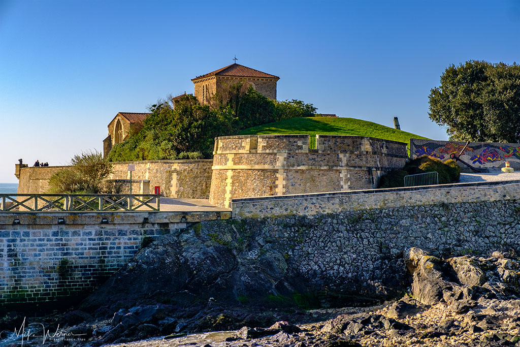 The Saint-Nicolas Priory at Les-Sables-d'Olonne