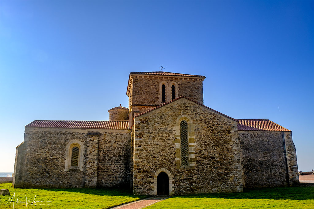 Main building of the Saint-Nicolas Priory at Les-Sables-d'Olonne
