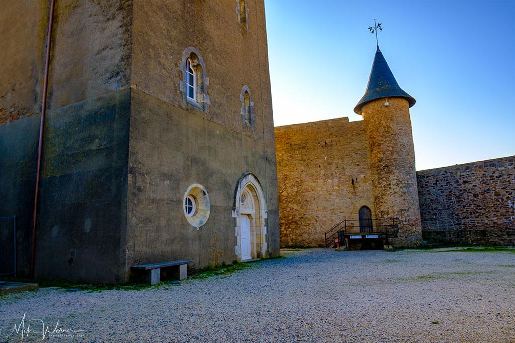 The grounds of  the Saint-Clair castle at Les Sables-d'Olonne