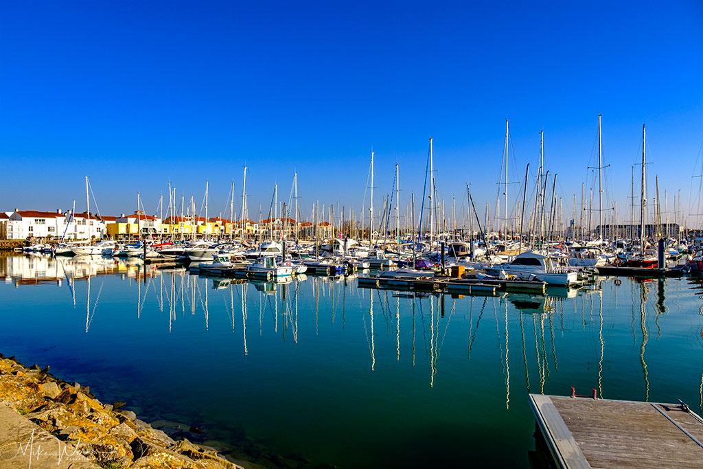 Pleasure boat marina n Les Sables-d'Olonne