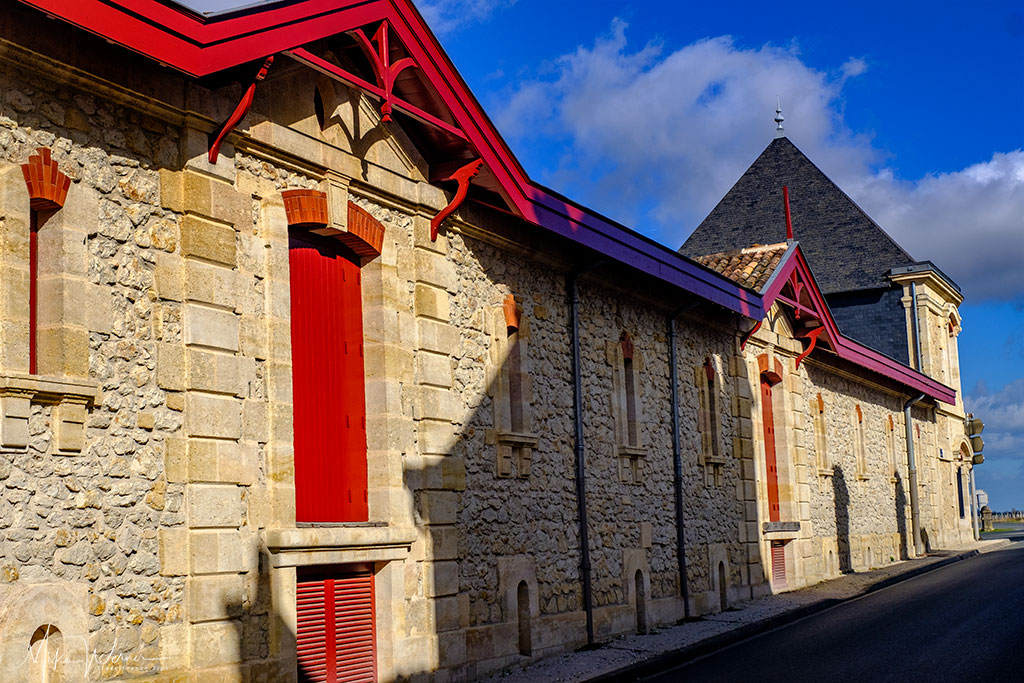 Chateau Durfort-Vivens building in Margaux-Cantenac