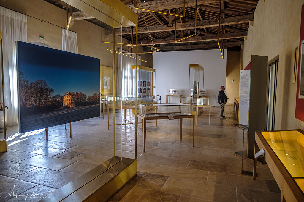 Exhibition of the Chateau margaux castle and history