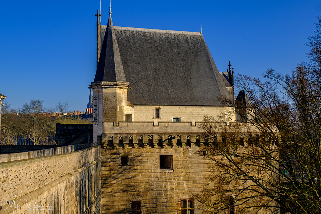 View of the Conciergerie from the Nantes castle walls