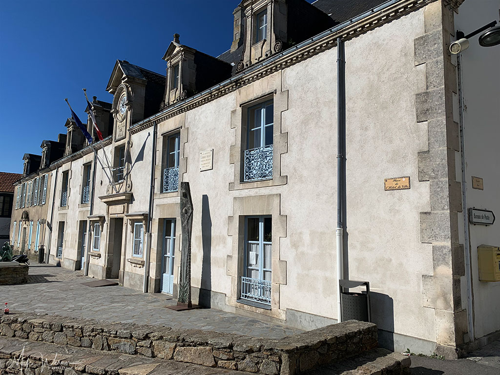 City Hall (Mairie or Hotel de Ville) of Noirmoutier-en-l'Ile