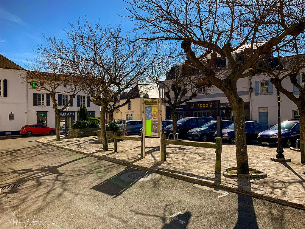 Square in Noirmoutier-en-l'Ile