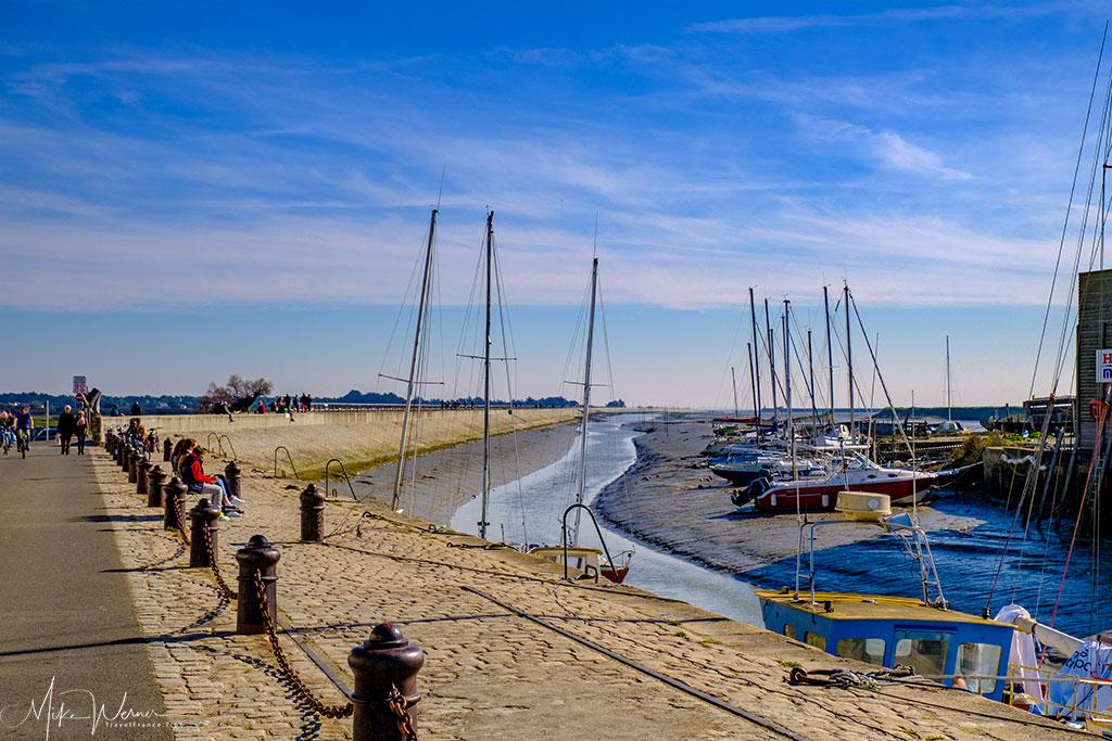 The canal entering Noirmoutier-en-l'Ile