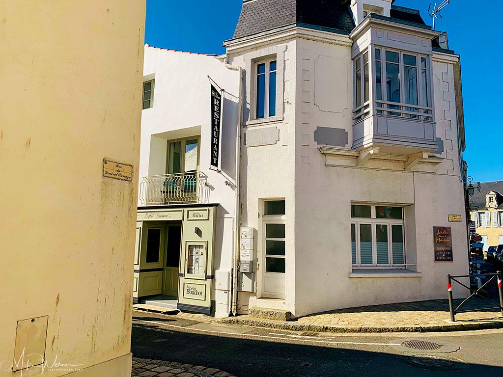 Moderately expensive restaurant in Noirmoutier-en-l'Ile