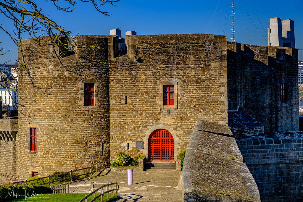One of the other buildings inside the Brest Castle/Fortress in Brittany