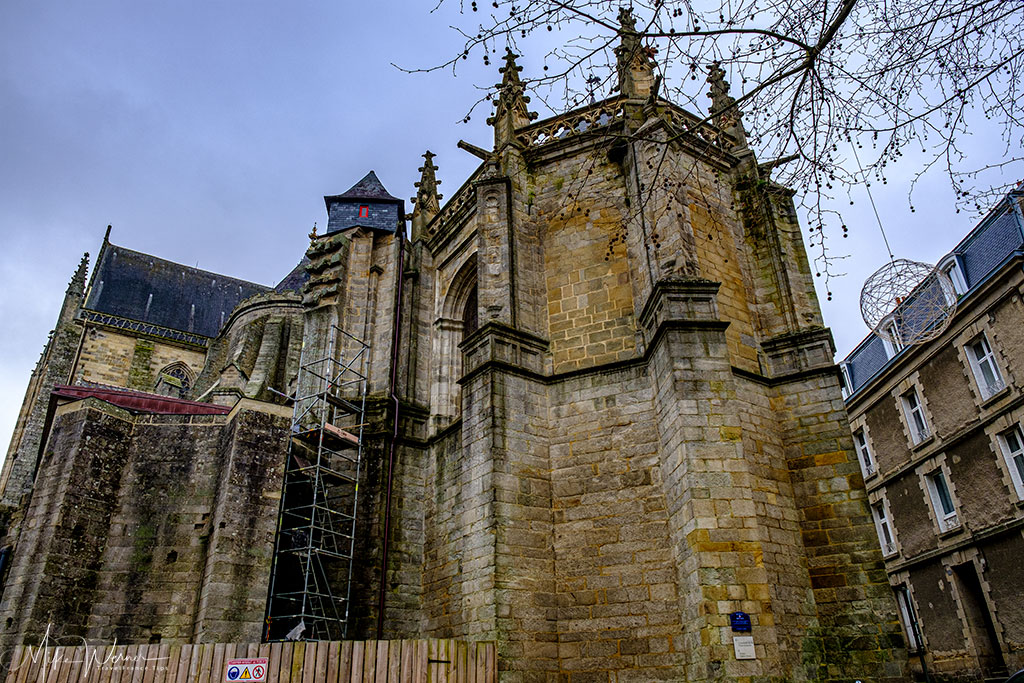 Saint-Pierre Cathedral of Vannes in Brittany