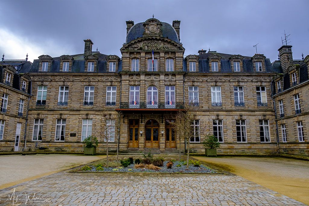 The prefecture building in Vannes, Brittany