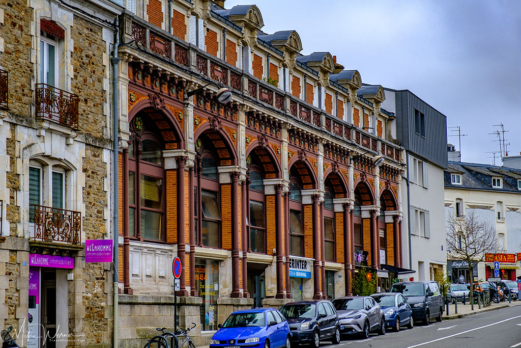 Petit-Fers building in Vannes, Brittany