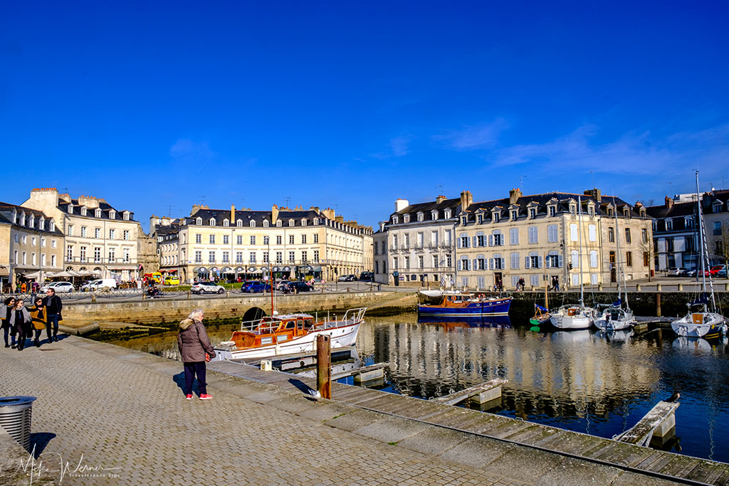 Pleasure boats marina in Vannes, Brittany