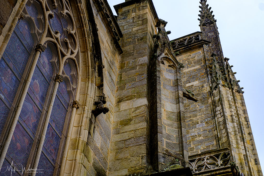 The Saint-Peter (Saint-Pierre) cathedral in Vannes, Brittany