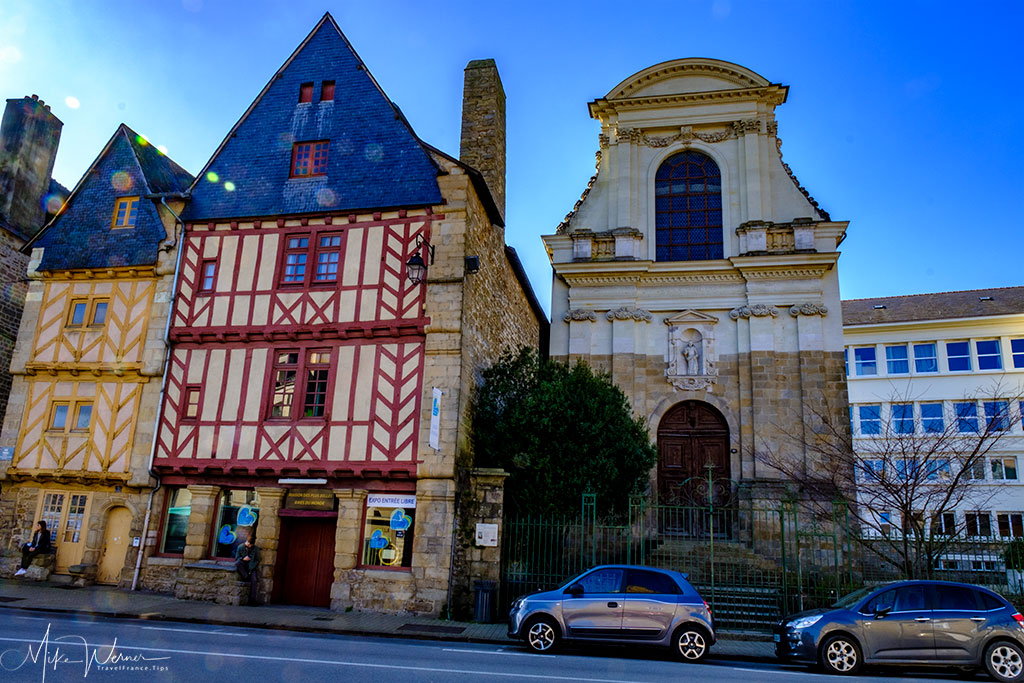 The Chapelle des Ursulines in Vannes, Brittany