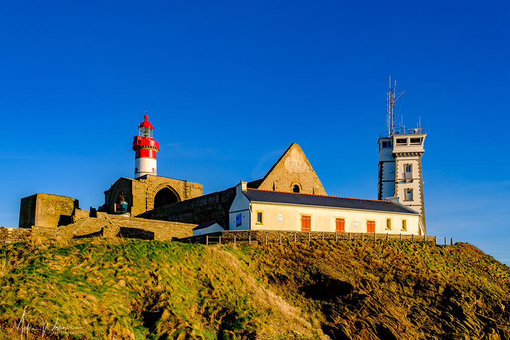 Lighthouse, Church, Abbey, Naval Observation post and WWII Memorial museum at Pointe Saint-Mathieu