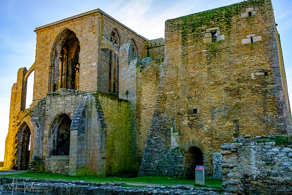 Ruins of the abbey at Pointe Saint-Mathieu