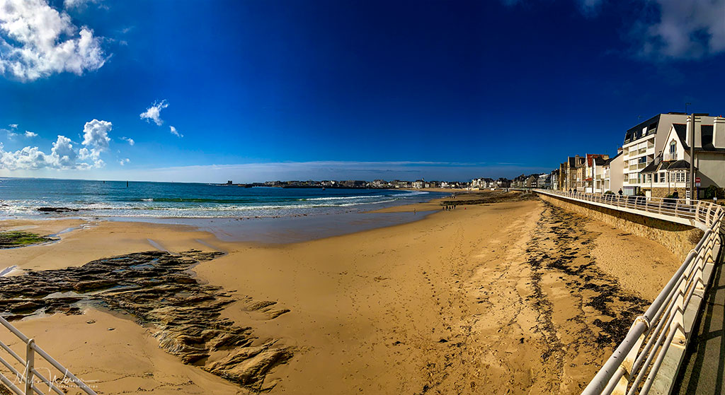 The beach alongside Quiberon, Brittany