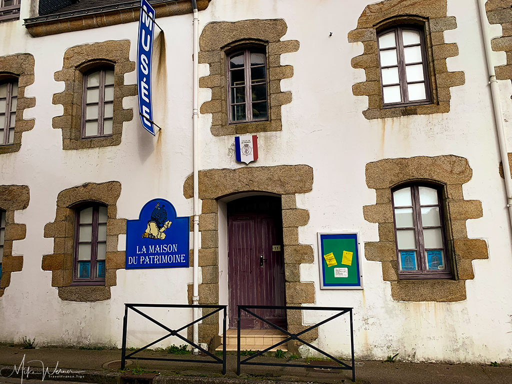Small museum (local heritage museum) in Quiberon, Brittany