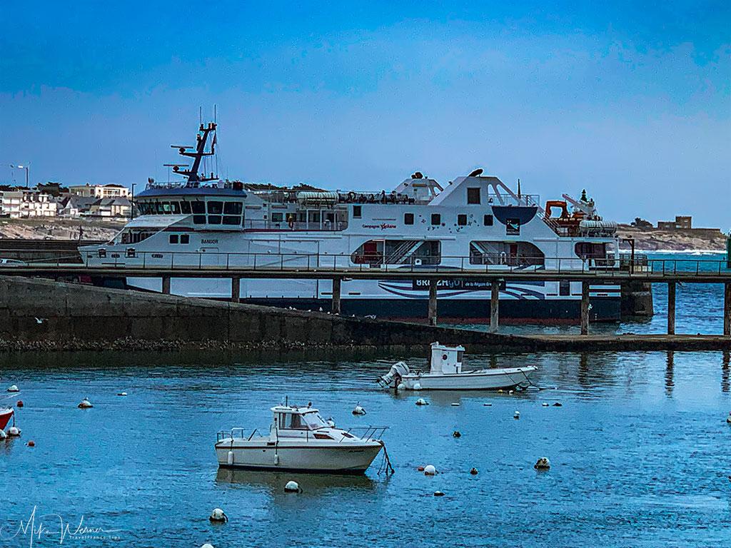 Quiberon ferry/boat