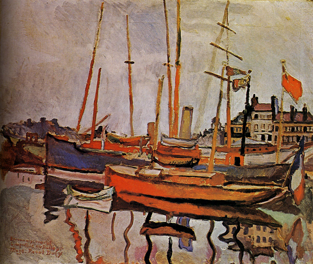 1906 Raoul Dufy - The Port of Le Havre