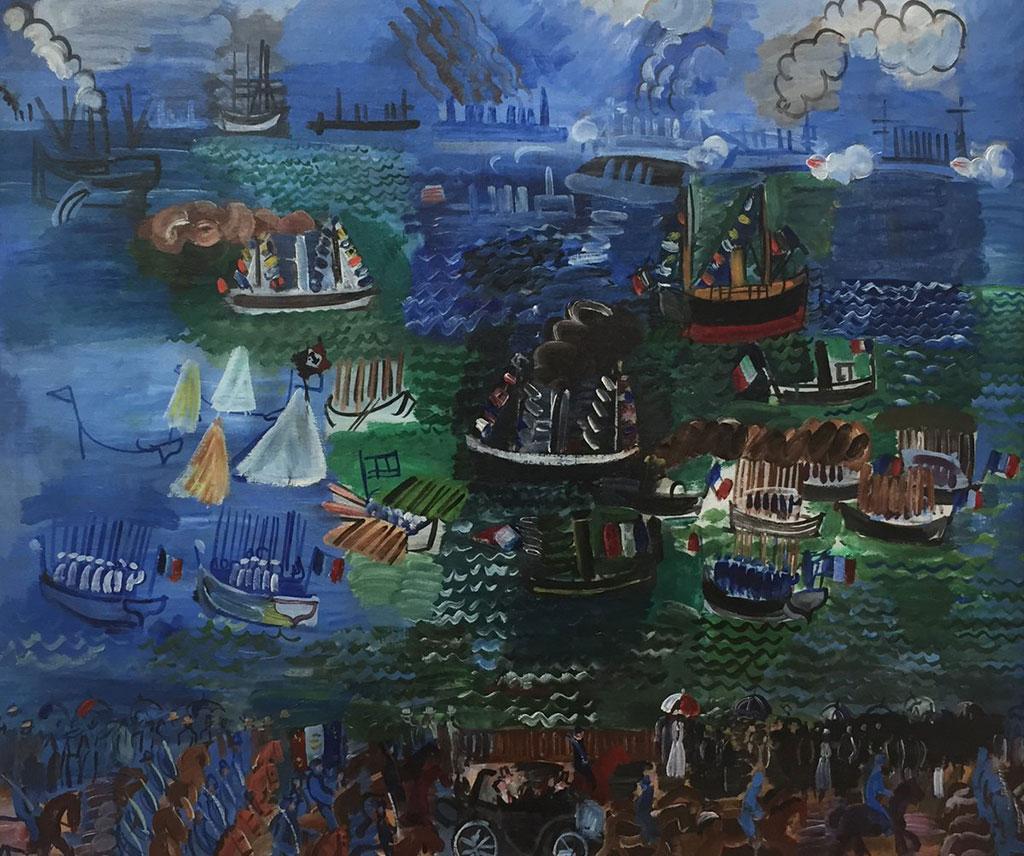 1925 Raoul Dufy - Nautical Festival at Le Havre
