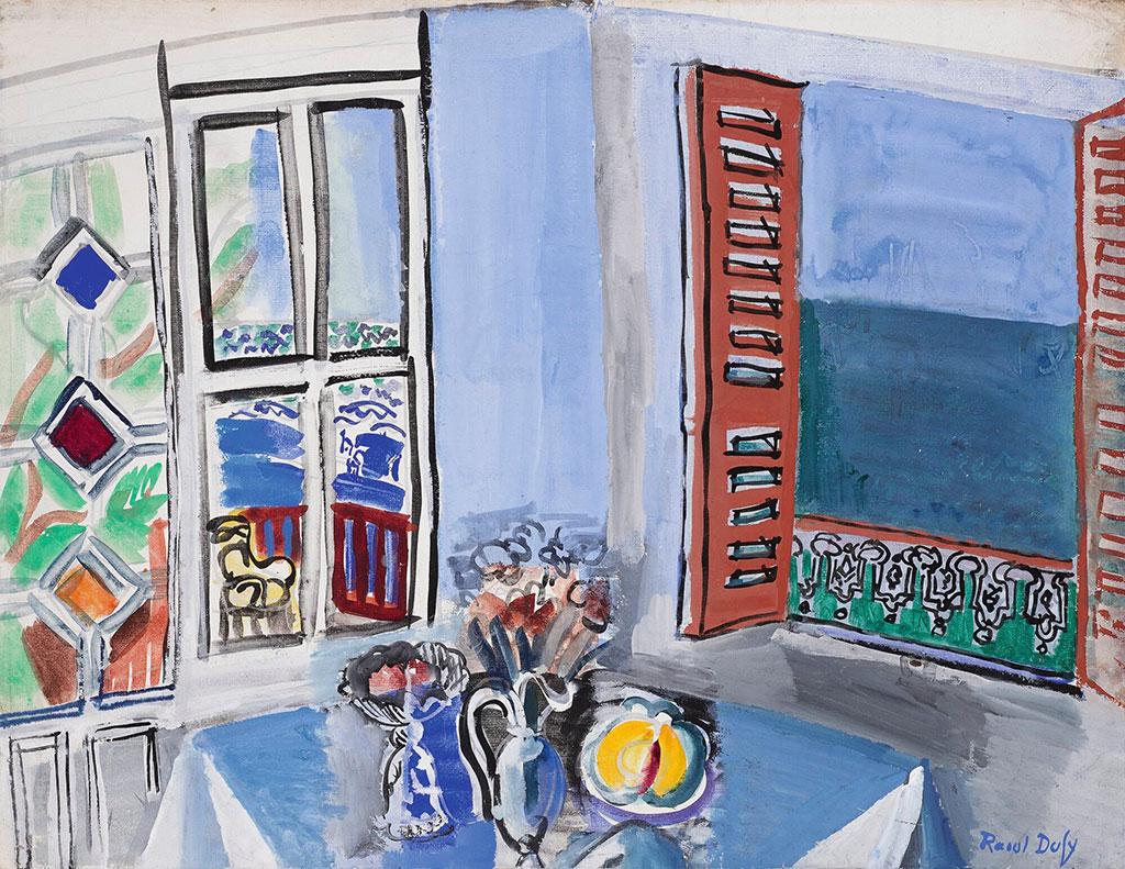 1929 Raoul Dufy - The Artist's Studio in Le Havre