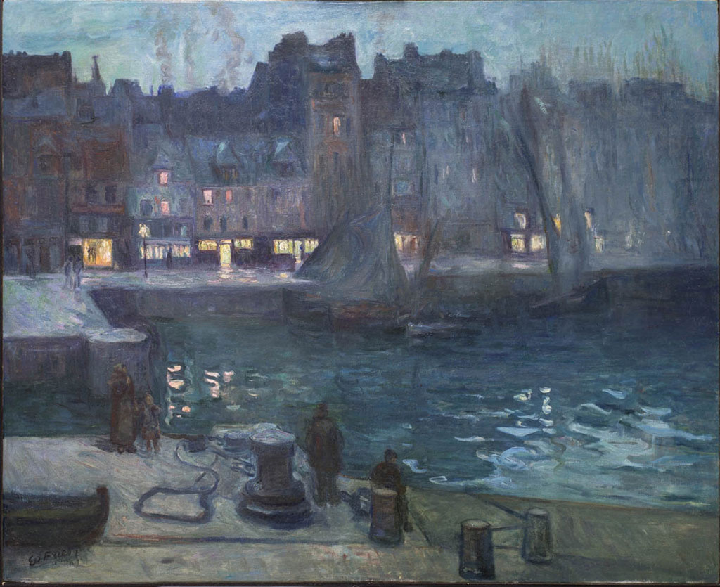 1903 - Othon Friesz - The old Dock of Le Havre