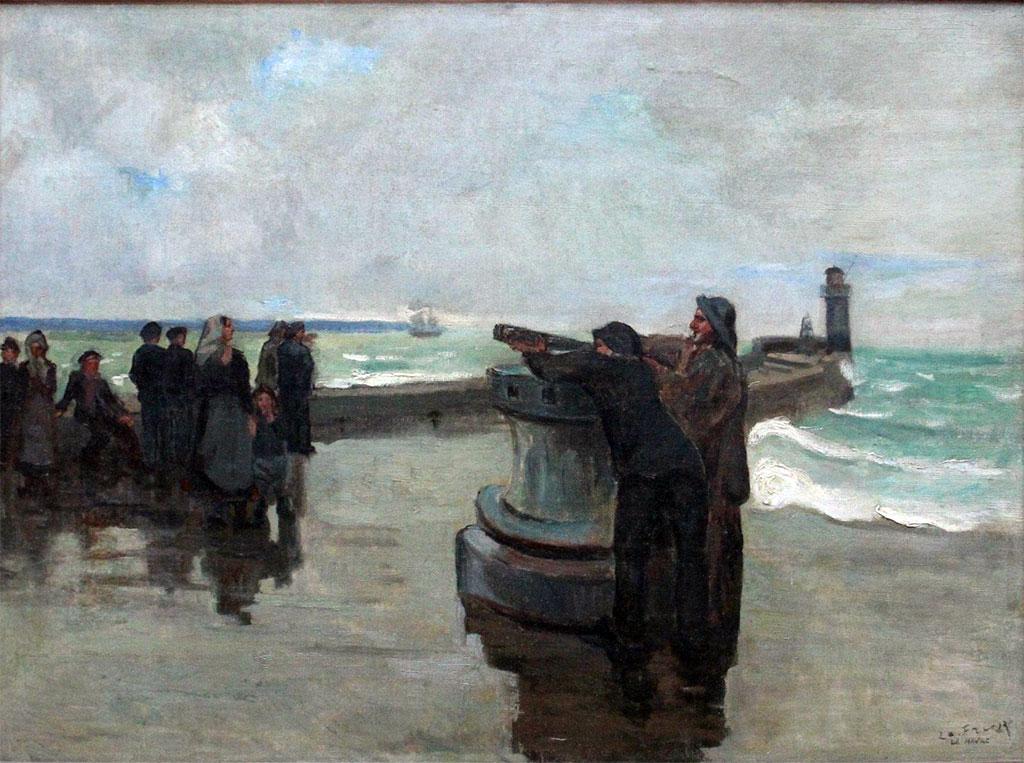 ???? - Othon Friesz - The harbor pier of Le Havre