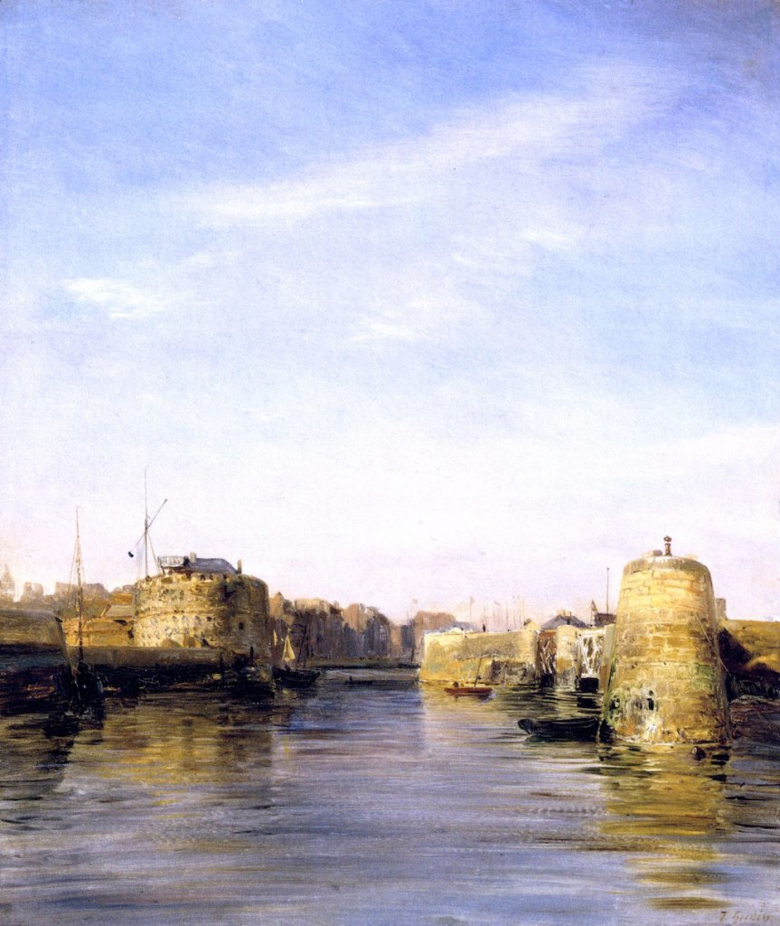 ???? Baron Theodore Gudin - Entry to the Port of Le Havre