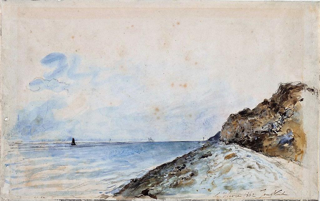 1862 Johan Jongkind - Le Havre