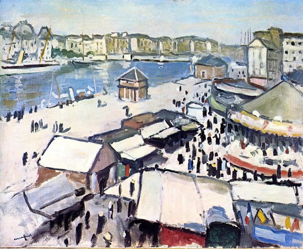 1906 Albert Marquet - Fair at Le Havre