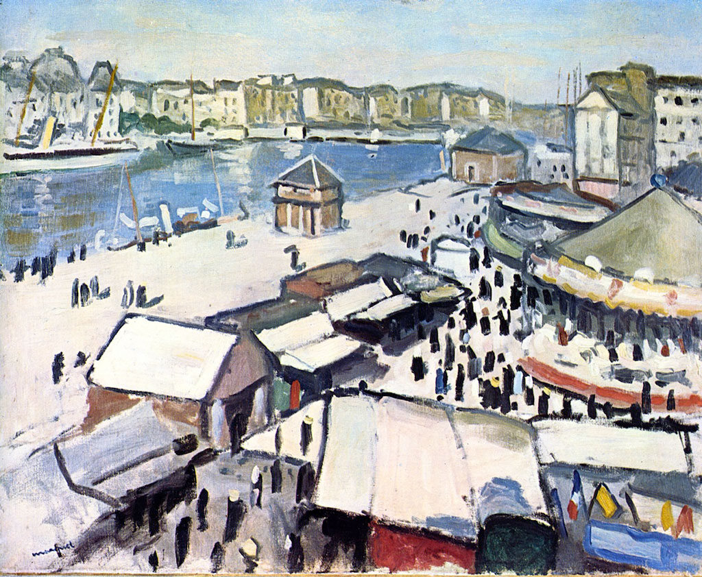 1906 Albert Marquet - Fair at Le Havre