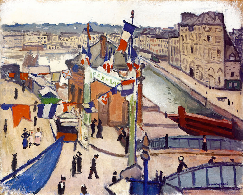 1906 Albert Marquet - National Holiday at Le Havre