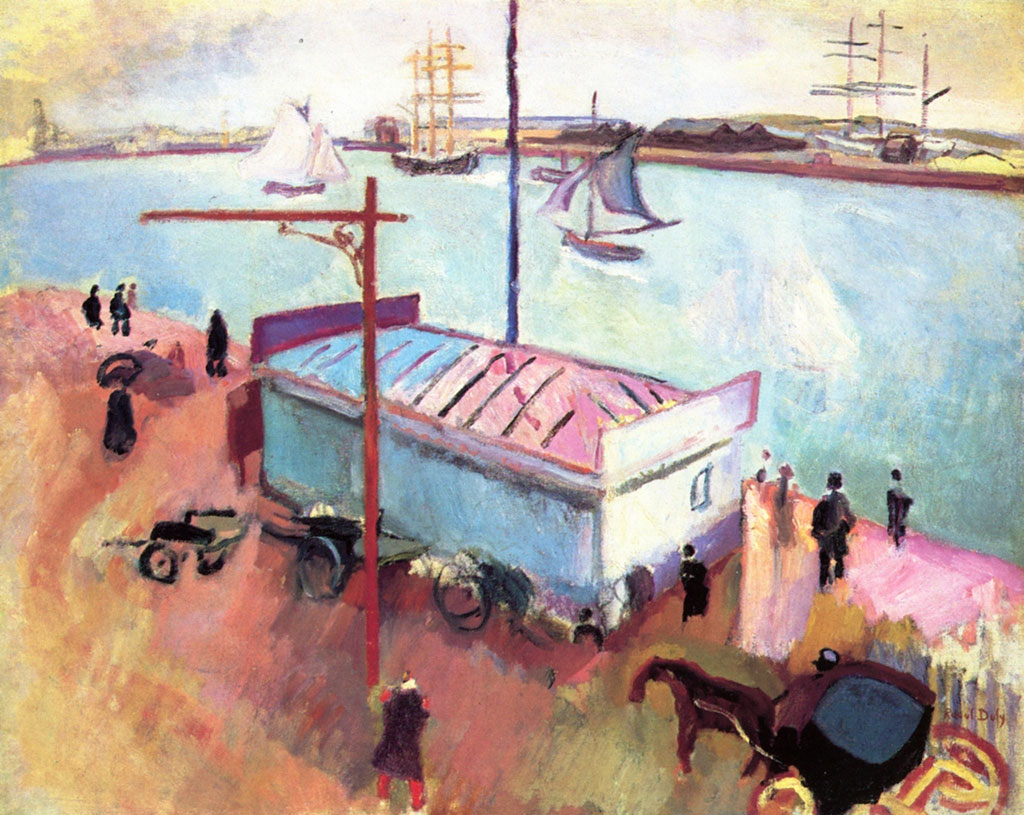 1906 Albert Marquet - The Port of Le Havre
