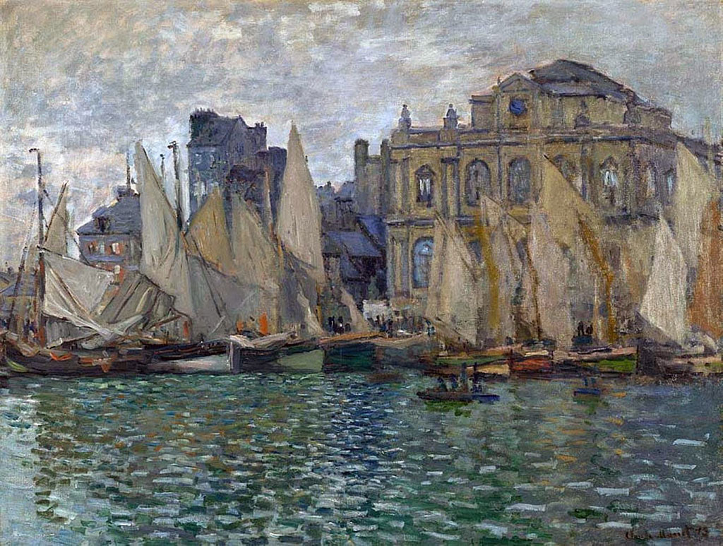 1873 Claude Monet - View of Le Havre