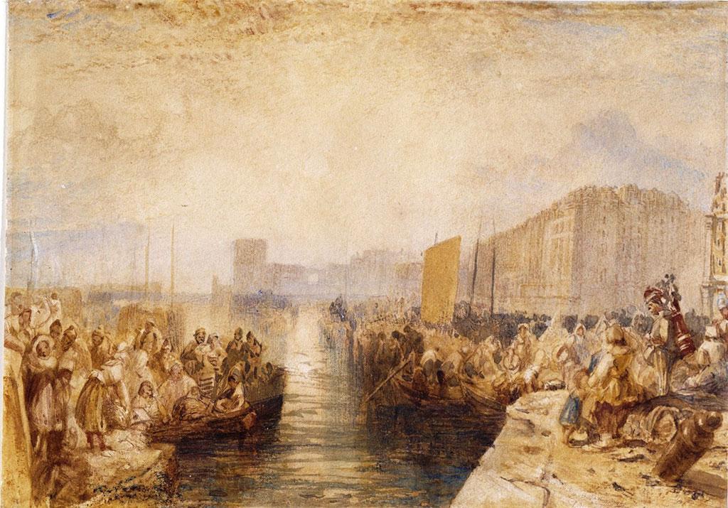 William Turner 1827 - Sunset